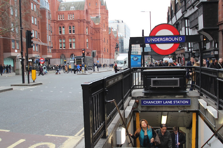 Metro station near Hatton Garden apartment