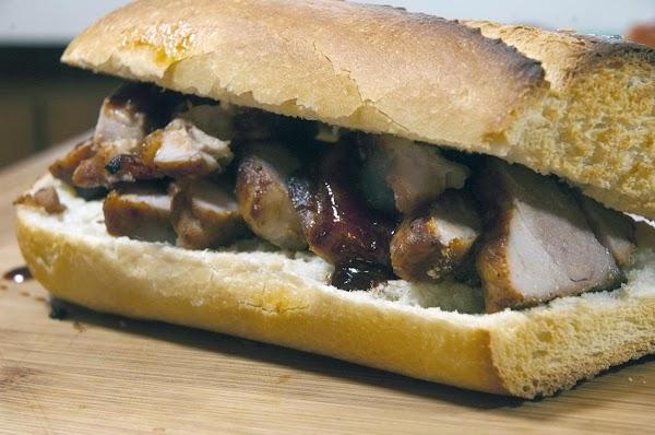 Now that's a sandwich. Enjoy.