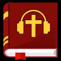 Audio Bibel deutsch offline mp3 Luther Übersetzung icon