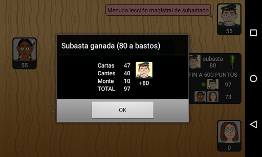 Tute Subastado 1.3.0 screenshots 8