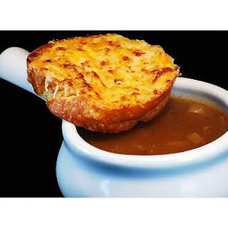 Dunkin French Onion Soup.