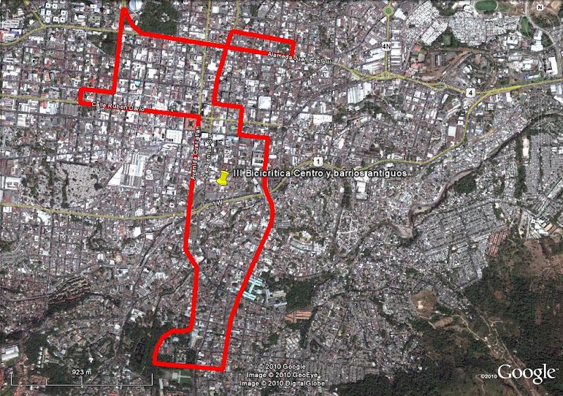 Photo: La ruta sorpresa de 8.5 KM... diseñada por Mónica Monti.