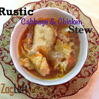 Rustic Cabbage and Chicken Stew