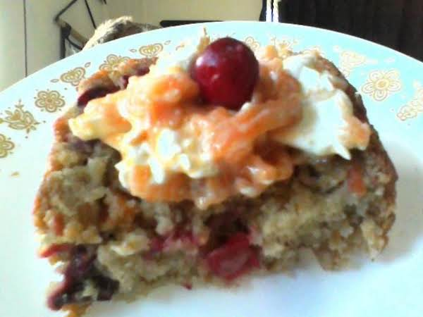 Cranberry Persimmon Nut Bread With Persimmon Spread