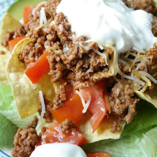 Quick and Easy Taco Salad with Ground Turkey