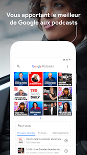 Google Podcasts Capture d'écran