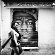Photo: Le scarabée  It's sunday, so it's also street art...  #streetphotography  #streetart  #fujigirl