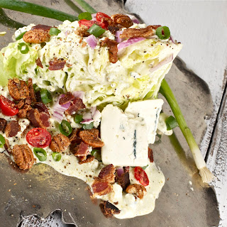 Iceberg Wedge Salad with Buttermilk Blue and Spiced Pecans