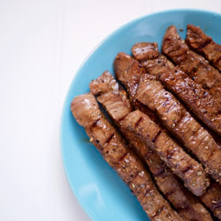 Balsamic Flank Steak.