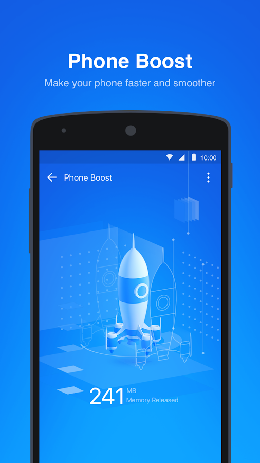 Boost Cache Cleaner - 1Tap Boost Clean Junk Files- screenshot
