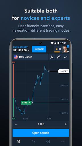 Olymp Trade – Online Trading App screenshot 1