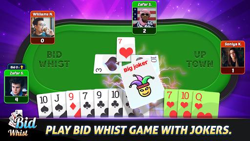 Bid Whist Free u2013 Classic Whist 2 Player Card Game screenshots 2