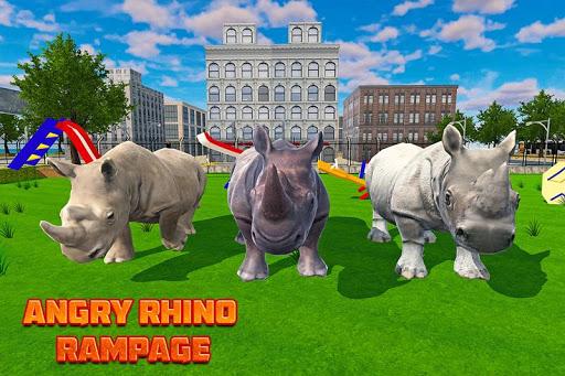 Wild Rhino City Rampage