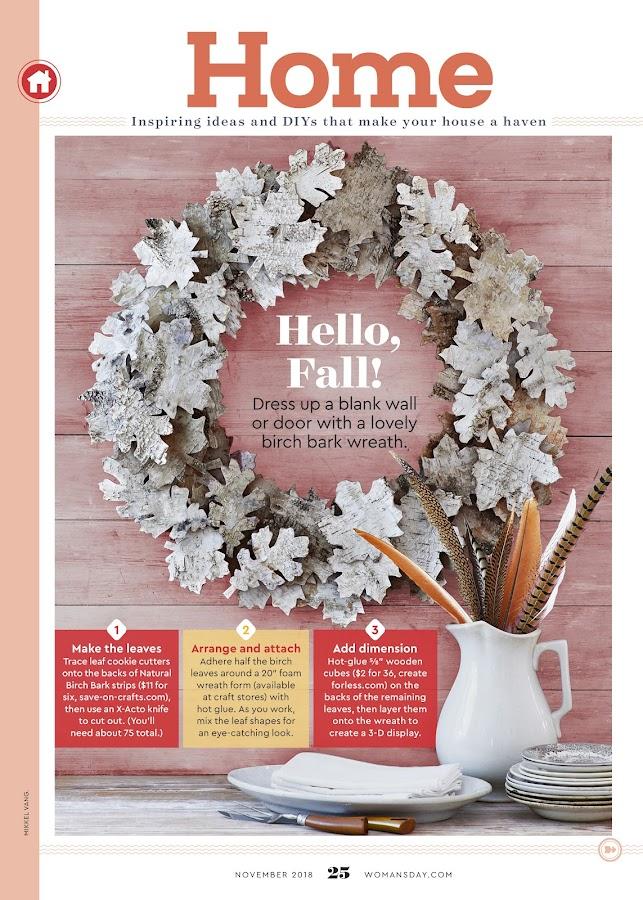 Woman's Day Magazine- screenshot