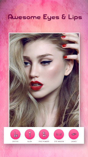 Face Makeup Photo Editor  screenshots 5