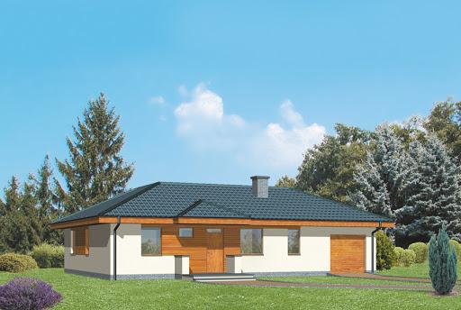 projekt Dom na 102 - wariant III - D09b