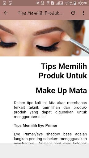 Tips dan Tutorial Make Up 1.1 screenshots 4