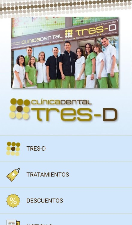 Clínica Dental Tres D Android Apps Appagg