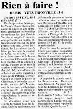 Photo: 01-04-97 N2F Défaite à Reims 3-0
