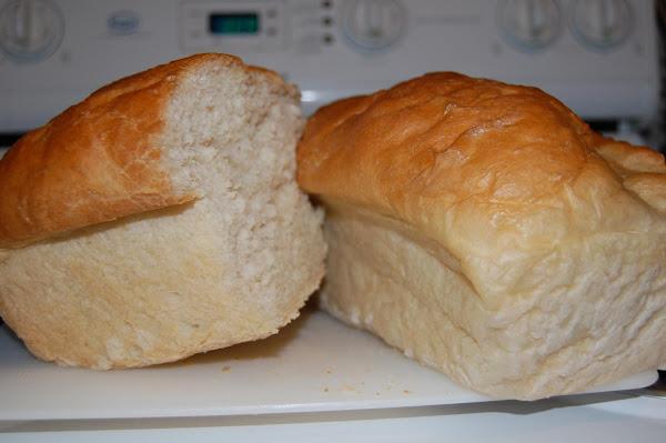 Home Made White Bread Recipe