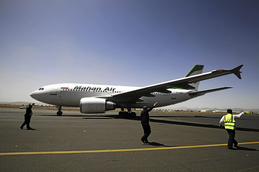 Turbulence ahead: Mahan Air is one of four Iranian airlines the US has targeted through sanctions that also are aimed at several Iranian and Turkish companies. The companies targeted were linked to Mahan Air and Meraj Air. Picture: REUTERS