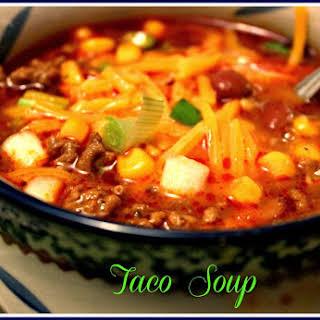 Taco Soup!.