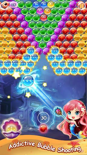 Mermaid Bubble Shooter Ball Pop: Fun Game For Free 1.5 screenshots 3