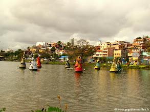 Photo: #001-Salvador de Bahia. La Digue du Tororo.