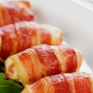 Bacon-wrapped Chicken Rolls With Pear