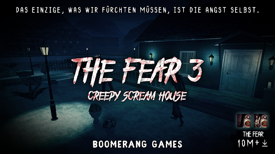 The Fear 3 : Creepy Scream House Horror Spiel 2018 Screenshot