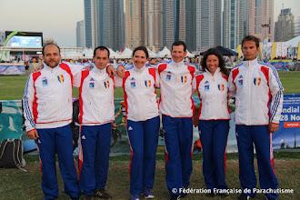 Photo: Voile Contact Séquence à 4  @ Dubaï, WPC 2012