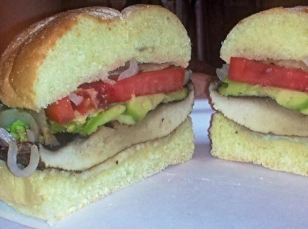 Grilled Garden Mojo Portabella Sandwich Recipe