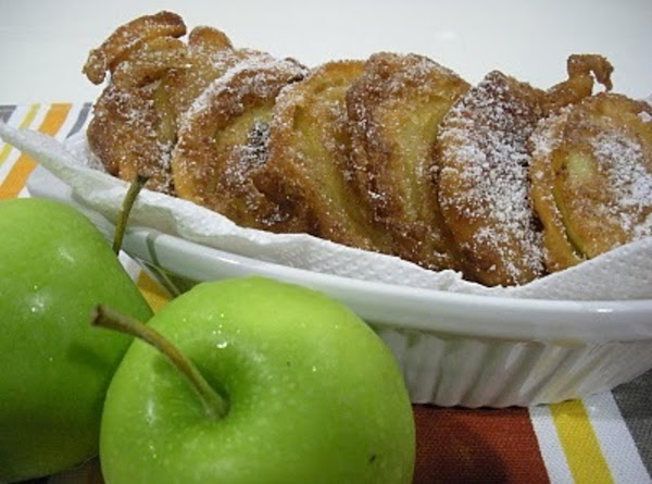 Easy Apple Fritters Recipe