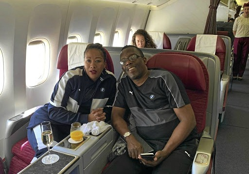 Maj-Gen Noel Ndhlovu and his wife Nombasa Ntsondwa-Ndhlovu liked to post selfies from exotic locations.