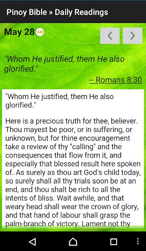 Pinoy Tagalog Bible screenshot 5