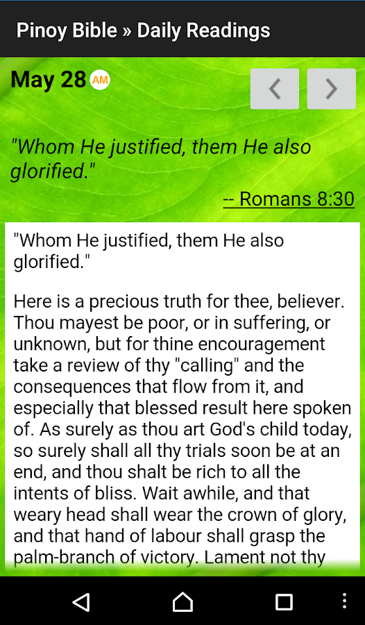 Pinoy Tagalog Bible- screenshot