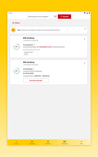 DHL Paket  screenshots 10