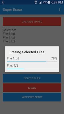 Super Erase - screenshot