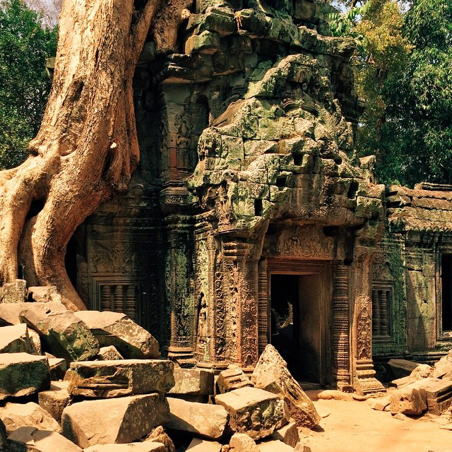 TRAVEL: Ancient Ruins in Cambodia