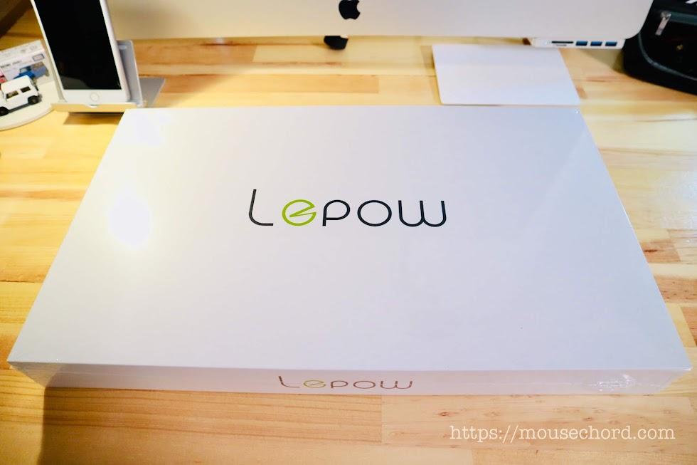 Lepow モバイルモニター15.6インチ購入Reivew