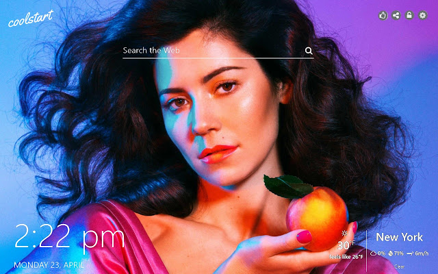 Marina and The Diamonds HD Wallpapers Theme