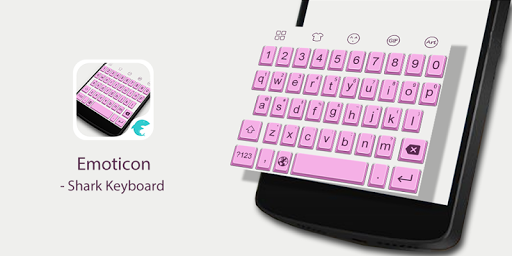 Emoji Keyboard-Pink Emoticon