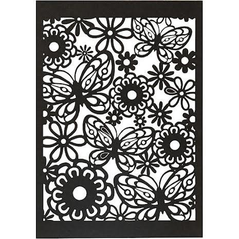 10-pack spetskartong - svart