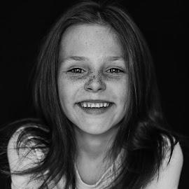 Zani-lee by Pierre Vee - Black & White Portraits & People