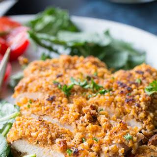 "Walnut Crusted Turkey Cutlets with ""Honey"" Mustard {Paleo & Whole30} Recipe"