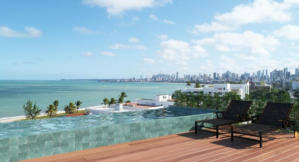 Studio com 1 dormitório à venda, 29 m² por R$ 293.000 - Bessa - João Pessoa/PB
