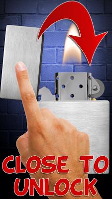 Lighter – lock screen. - screenshot