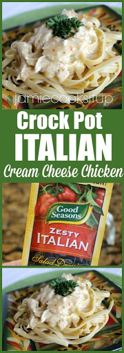 Italian Cream Cheese Chicken