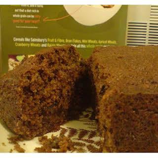 Chocolate Walnut Sponge Cake.