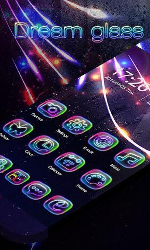 Dream glass GO Launcher Theme